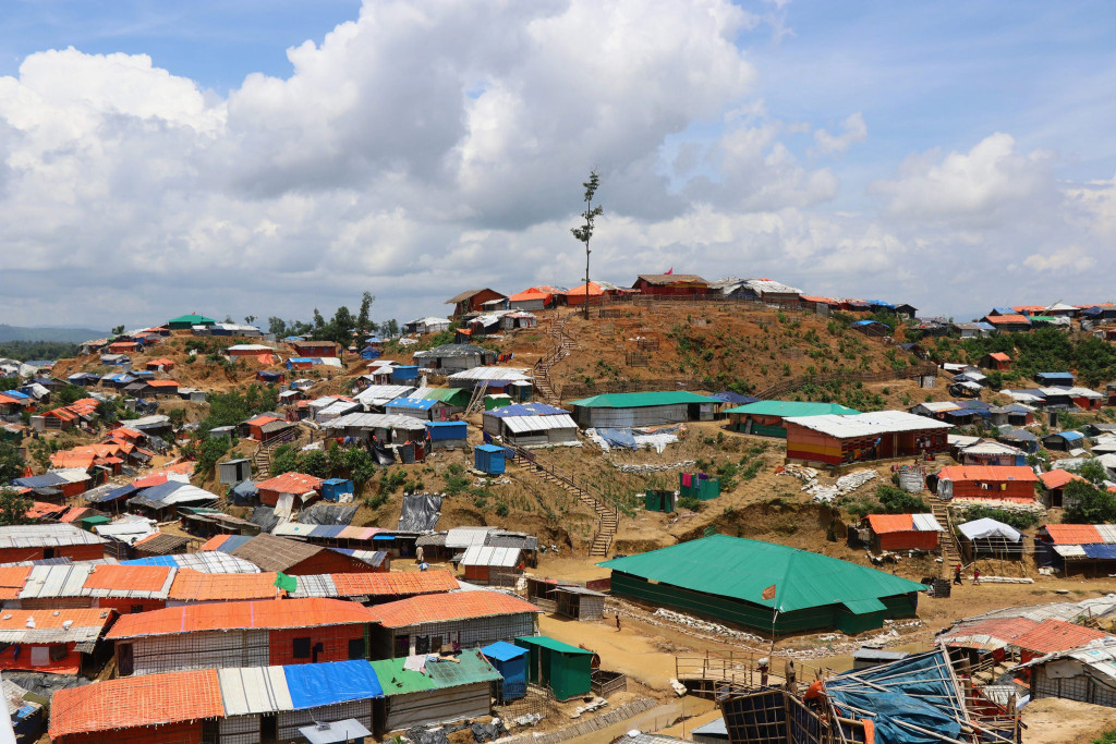 "Foto: Mohammad Tauheed. ""Roohingya Camp in Cox's Bazar"""